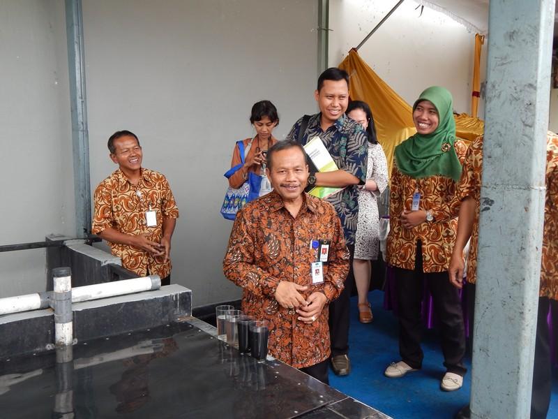 Inauguration of IPAL Installation of PT. KORIN JAYA
